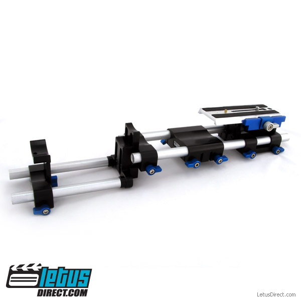 letus rod support voor letus elite 35mm cine adapter