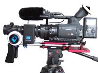complete 35 mm DVCProHD set te huur